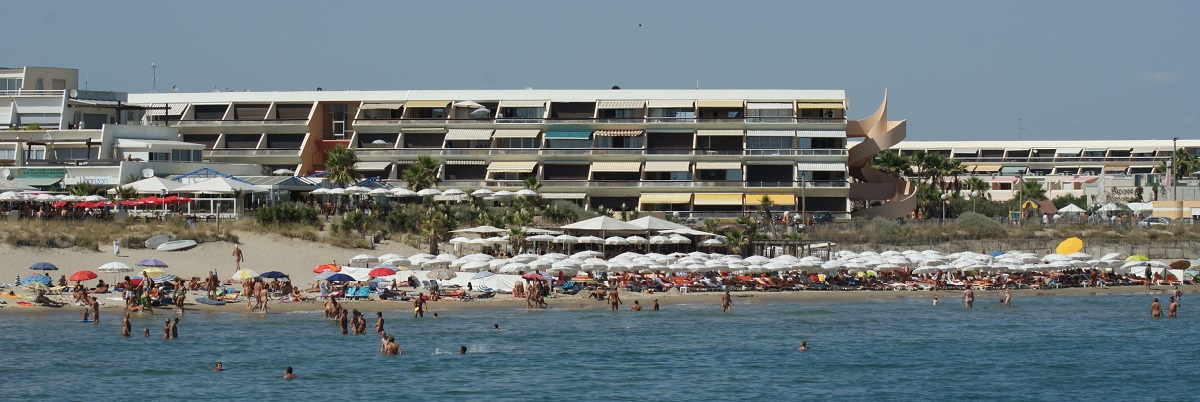 the nude beach of Cap d'Agde