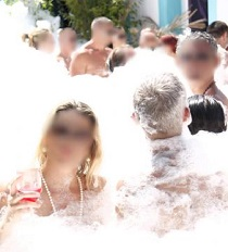 foam party Cap d'Agde